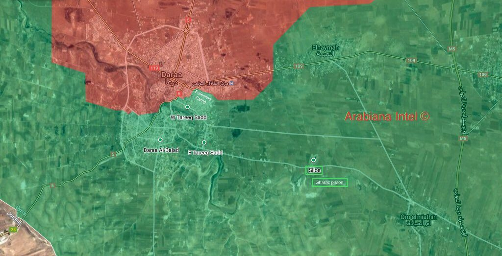 Syrian Army Kicks Off Advance In Countryside Of Daraa Provincial Capital