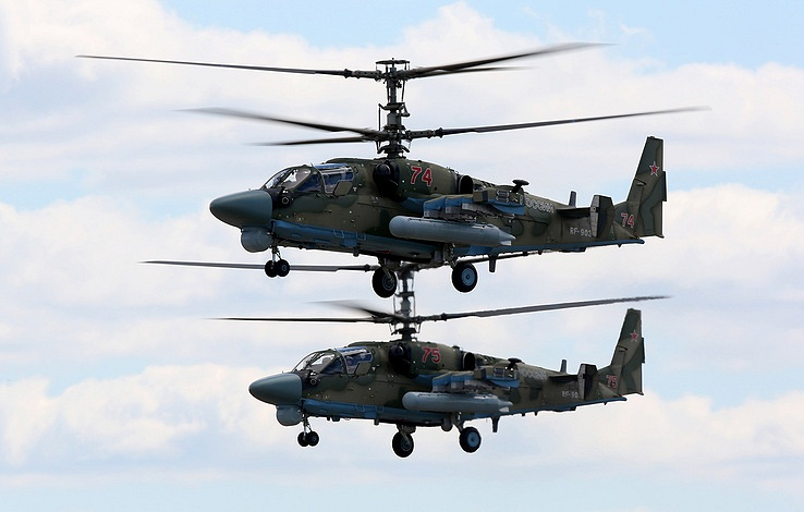 Another Ka-52 Attack Helicopter Crew Returns To Russia From Syria