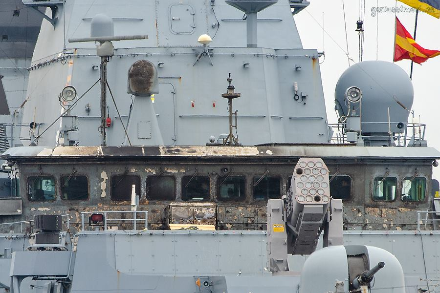 Video: German Navy Frigate Is Burning Because Of Missile Accident