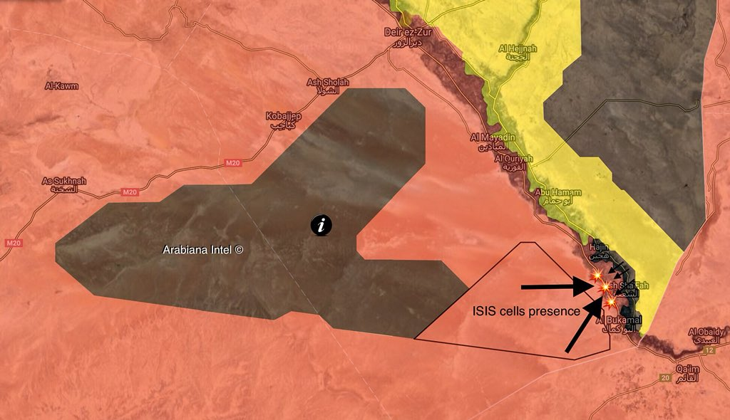 ISIS Launches Large Attack On Al-Bukamal, Captures Some Positions From Army