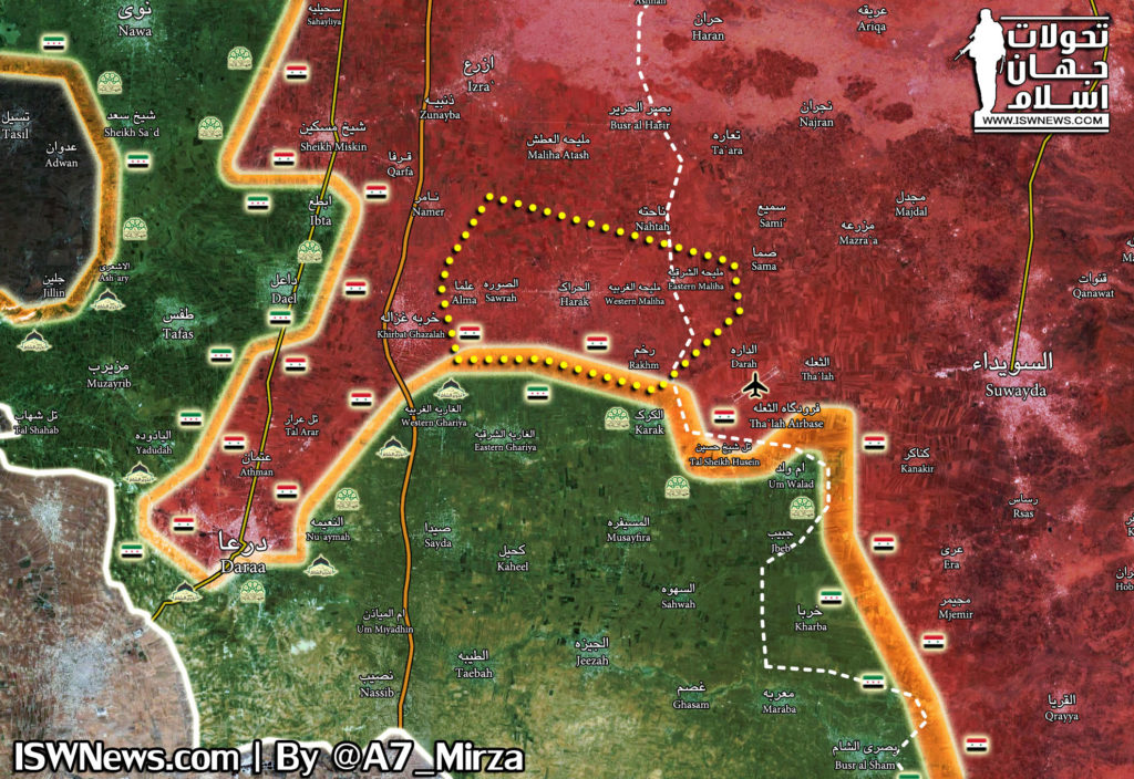 Tiger Forces, Their Allies Advance On Militants East Of Daraa City