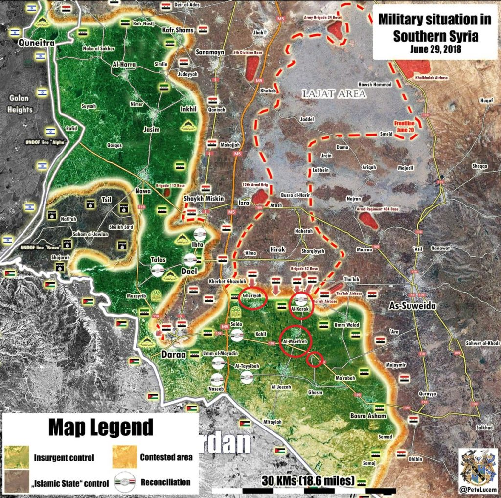 Government Forces Liberate 5 More Villages From Militants In Southern Syria (Map Update)