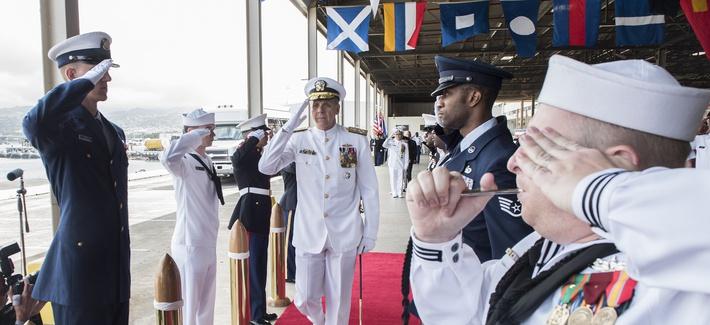 U.S. Renames Pacific Command To Indo-Pacific Command