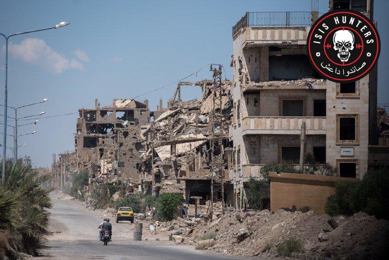 第5襲撃隊のISISハンターがダマスカスからデアエーゾルに再配備され、ISISセルと戦う