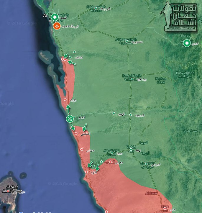 Saudi-backed Red Sea Coast Offensive Slows Down As Houthis Cut Off Supply Lines Of Saudi-led Forces