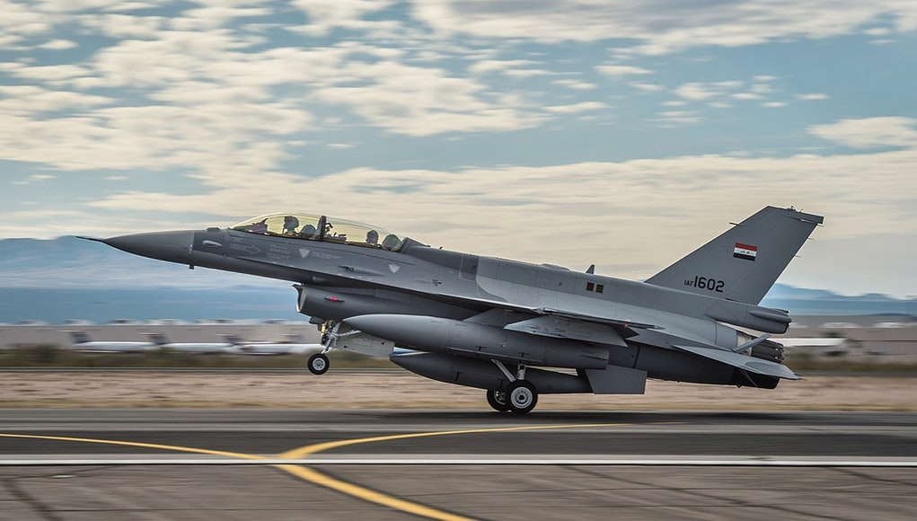 In Video: Iraqi F-16s Hit ISIS Hideouts Between Saladin & Kirkuk