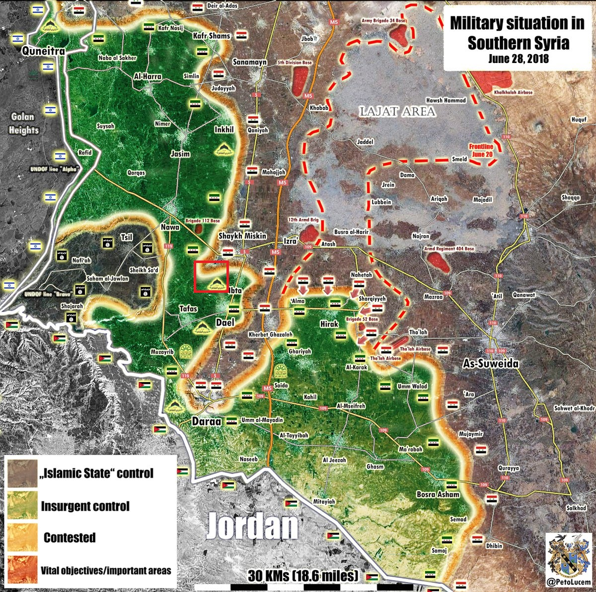 Syrian Military Opens Front In Western Daraa, Captures Several Positions
