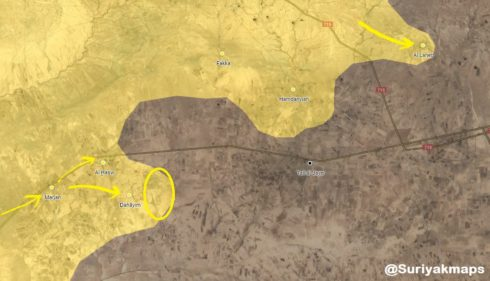 Syrian Democratic Forces Capture Three Villages And Kill Dozens Of ISIS Fighters In Southern Al-Hasakah