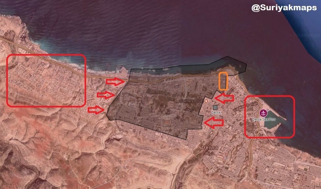 Libyan National Army Storming Militants' Positions In Center Of Derna