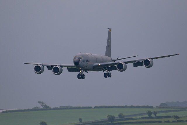 Five U.S. KC-135 Stratotanker Aircraft, 150 Personnel Deploy In Ukraine's Lvov For Drills