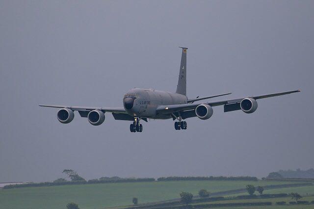 Five U.S. KC-135 Stratotanker Aircraft, 150 Personnel Deploy In Ukraine's Lvov For Drills