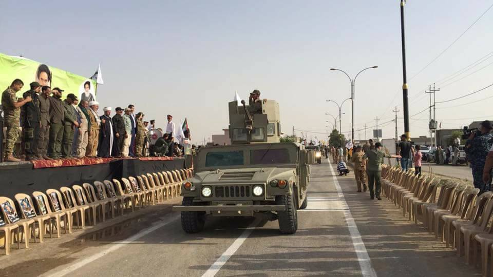 Iraqi Popular Mobilization Military Parade In Kirkuk City - Another Sign Of Group's Growing Influence
