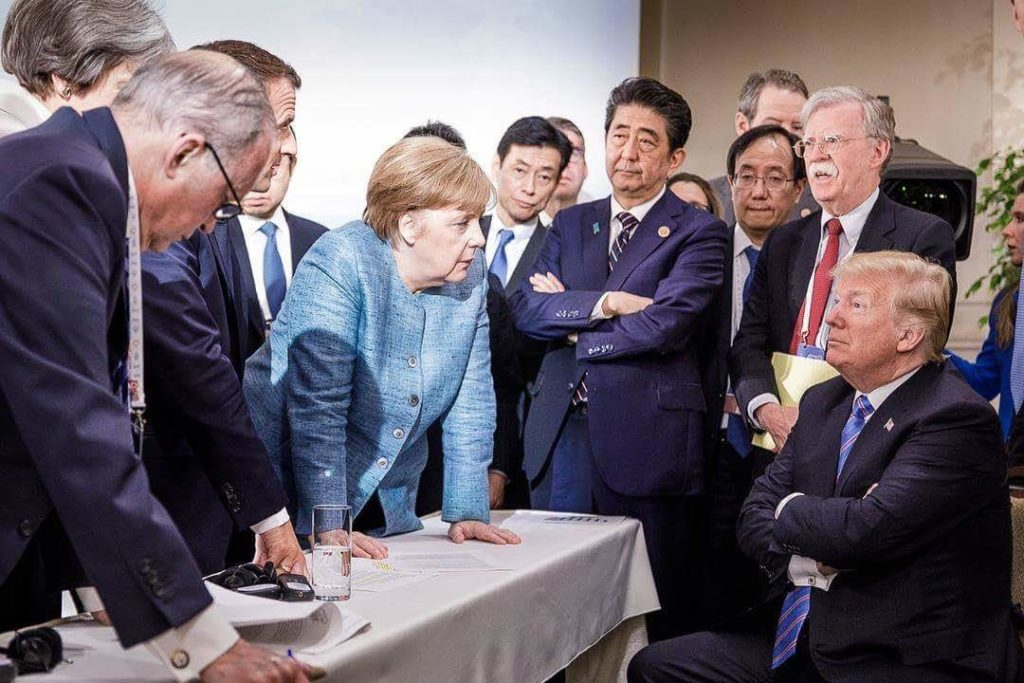 G7 Communique: Demands To Russia Over Conflicts In Syria And Ukraine