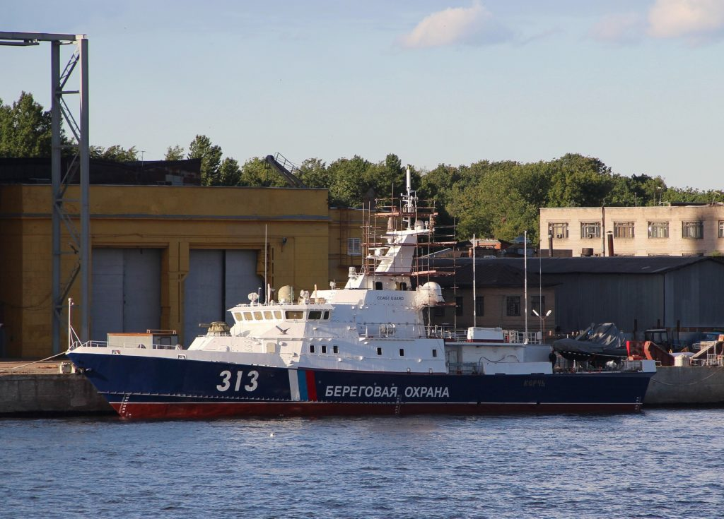Russia's Coast Guard To Receive More Patrol Ships Amid Continued Tensions In Azov Sea