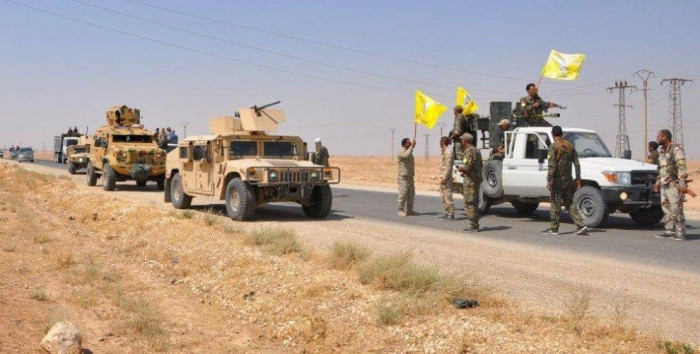 U.S. Sends 250 Trucks Loaded With Heavy Weapons And Ammunition To SDF
