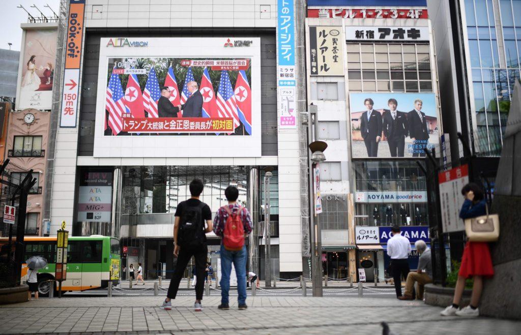 Trump And Kim Jong-un Sign 'Historic' Document At Singapore Summit