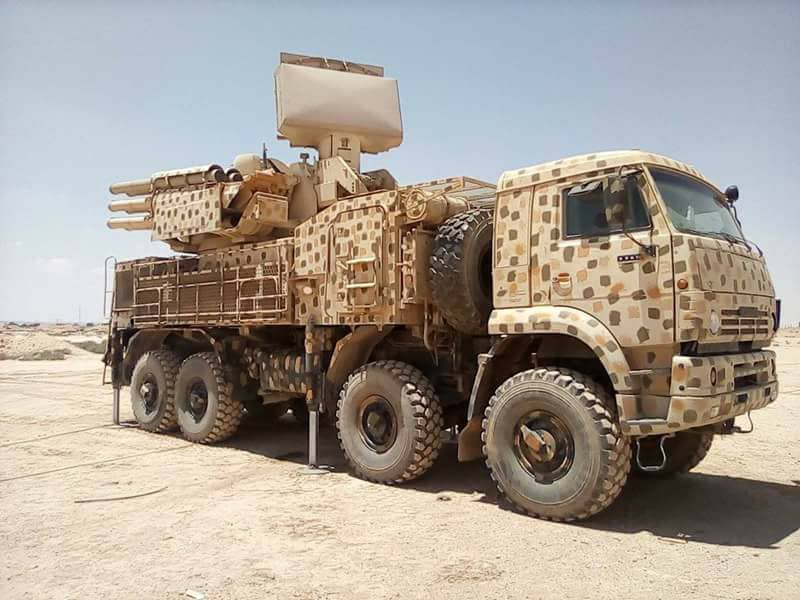 Syrian Military Deploys Additional Pantsir-S1 Systems Near Occupied Golan Heights, In Deir Ezzor Province: Reports