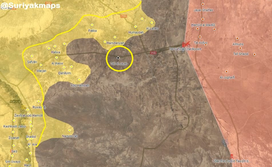 US-backed Forces Developing Their Advance Against ISIS At Syrian-Iraqi Border