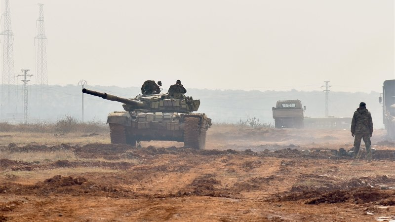 Syrian Army's 11th Armored Division Replaces Hezbollah At Border With Lebanon