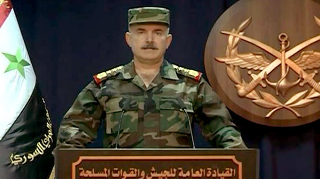 Syian Army Cleared Deir Ezzor Desert From ISIS: General Command