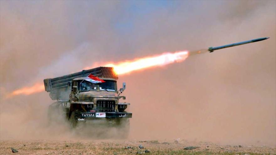 Syrian Army And Russian Aerospace Force Respond To Militants' Attacks In Aleppo And Lattakia