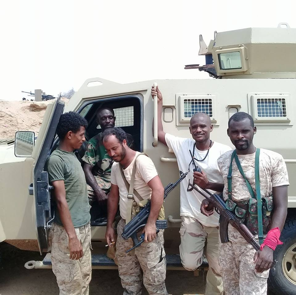 Sudanese Forces In Yemeni War