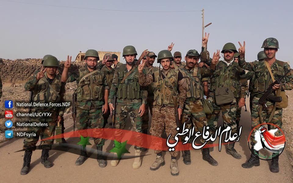 Government Forces Expand Their Operations Against ISIS In Eastern Syria
