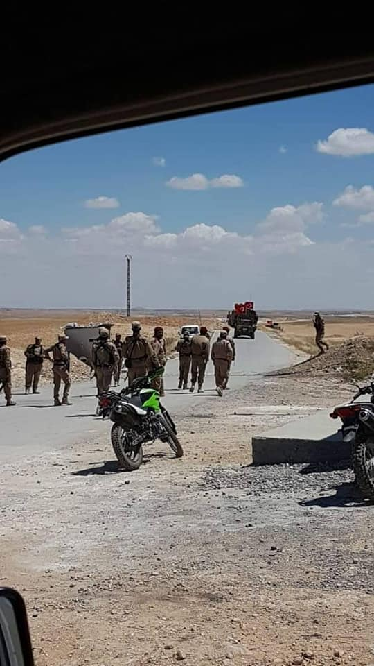 Turkish Military Patrol Entered Syria's Manbij Area Under Deal With U.S. (Photos, Video)
