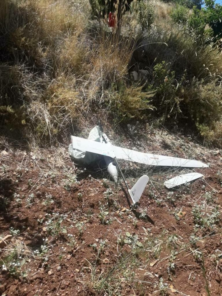 In Photos: Syrian Forces Shoot Down Israeli Reconnaissance UAV East Of Golan Heights