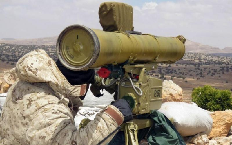 Syrian Army Destroys Several Vehicles And Kills Dozen Militants With Kornet ATGMs In Northern Hama