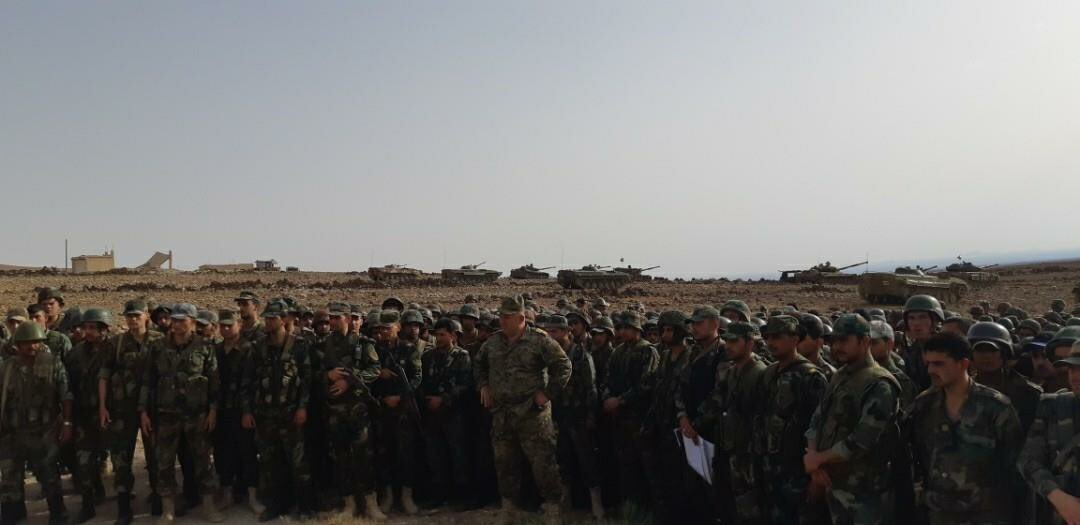 Syrian Army Launches Military Operation Against ISIS In Eastern al-Suwayda (Photos)
