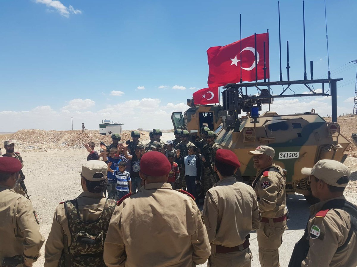 Kurdish Forces To Withdraw From Manbij Area Next Month: Turkish Foreign Minister
