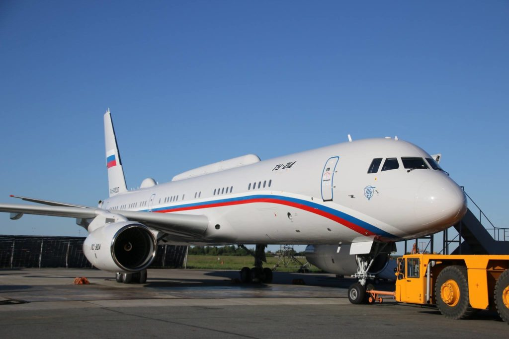 Russian Military Gets Second Tu-214 PU-SUBS Flying Command Post Plane