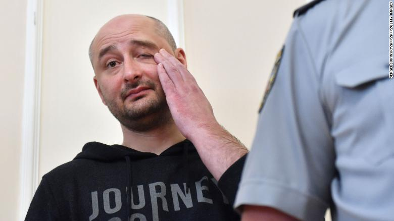 Babchenko Monetizes His Fake Death, Asks 50,000 USD For Exclusive Interview