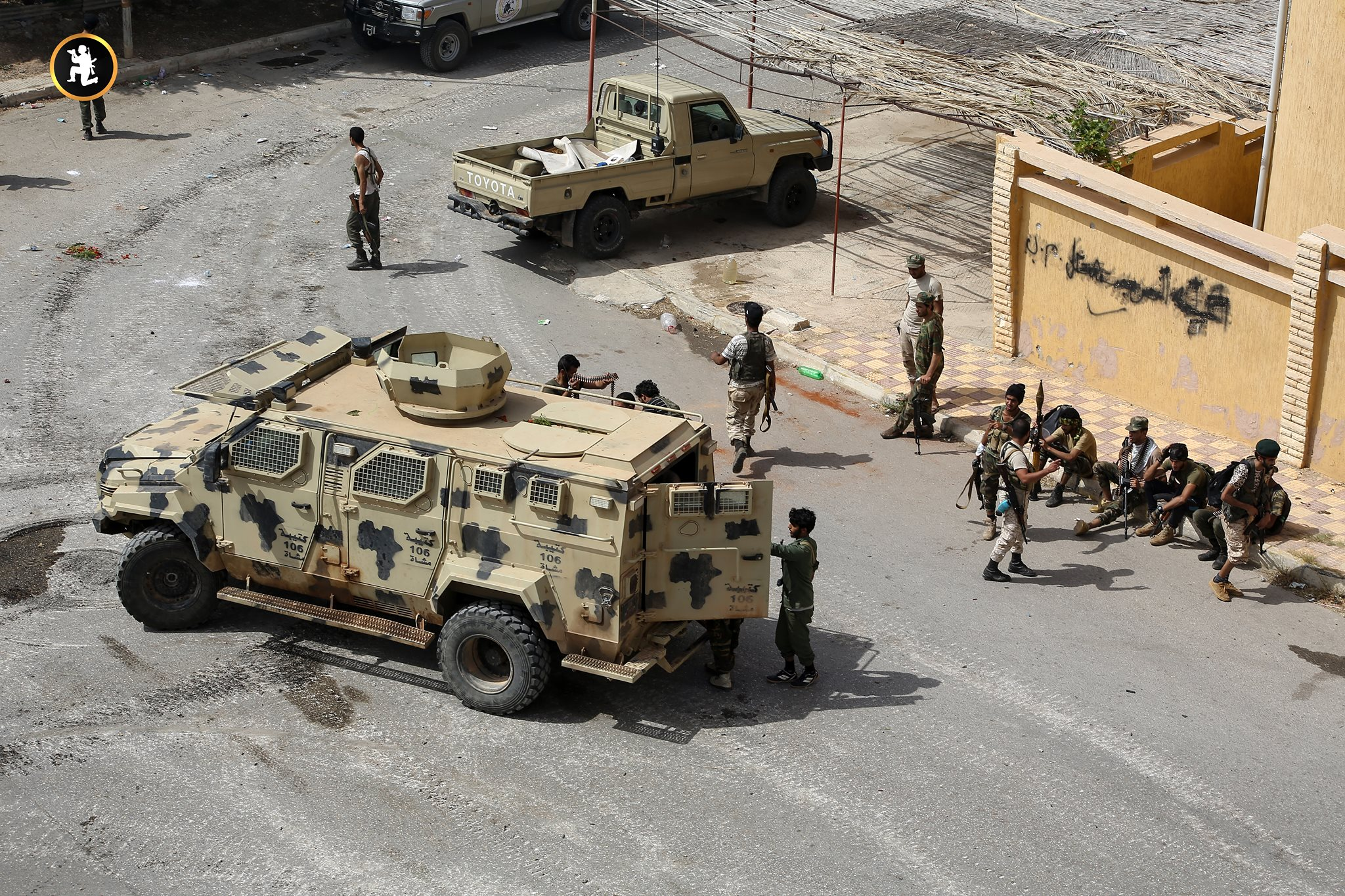 Libyan National Army Besieges Remaining Militants In Derna