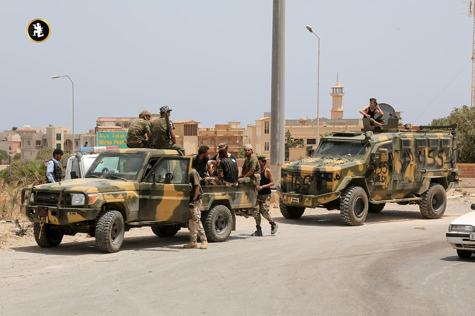 Libyan National Army Advances Deeper In Militant-held Part Of Derna (Photos)
