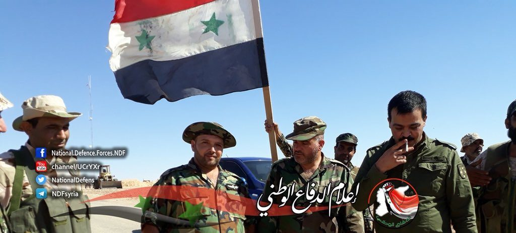 Syrian Forces Crush ISIS Cells At Iraqi Border, Meet With Iraqi Troops At New Point (Map, Photos)