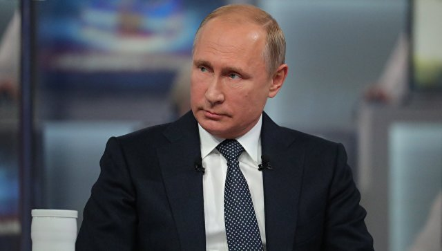 "Putin: Kiev Forces' Advance In Donbass Region Would Have ""Grave Consequences For Ukrainian Statehood"""