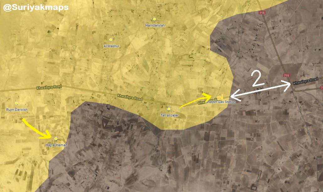 Syrian Democratic Forces Continue Its Advance Towards Dashisha, Capture Key Position 2km Away