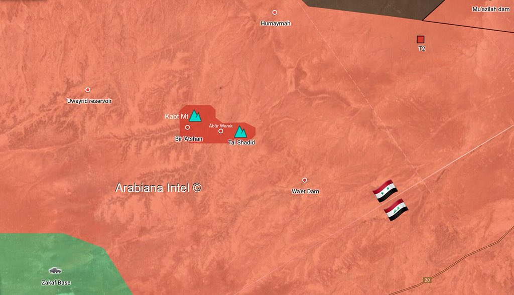 Army Eliminates Small ISIS Pocket Near T2 While ISIS Carries Out Attack East Of T3 (Map)