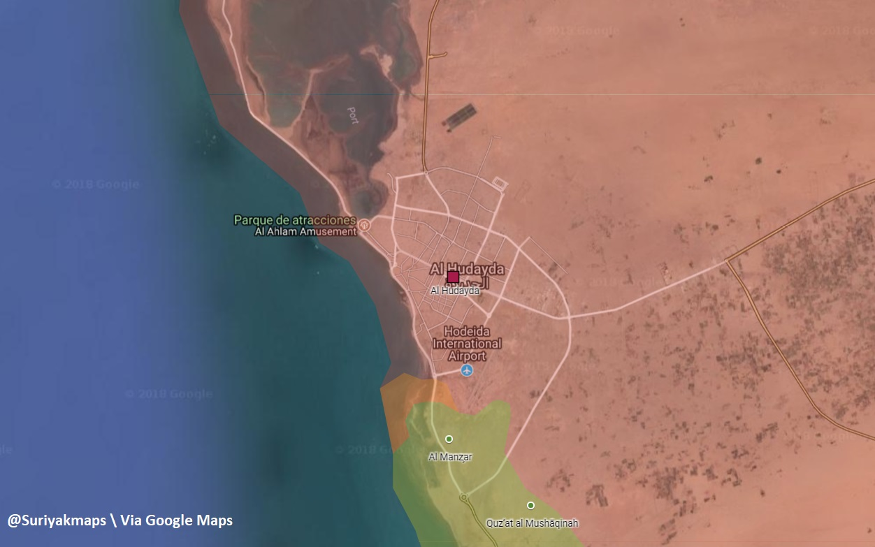 Saudi-led Coalition Captures Entrance To Al-Hudaydah Airport