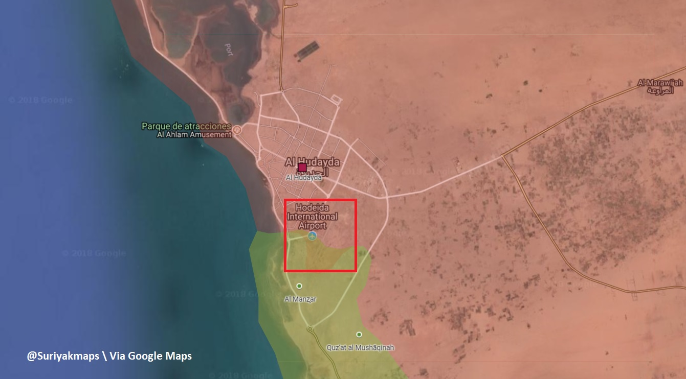 Saudi-led Coalition Captures Al-Hudaydah Airport, Repels Houthis Attack In al-Tuhayat (Photos, Map)