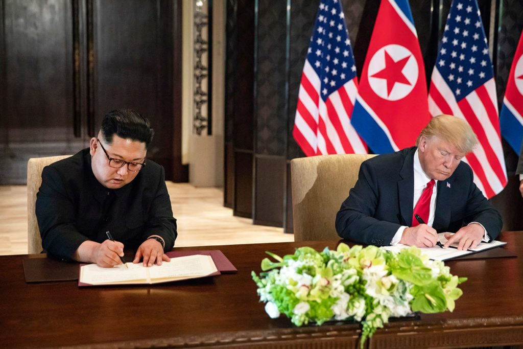 "Kim's Resolve to ""Put The Past Behind Us"", Trump's Commitment to Stop the War Games? What Next?"