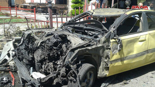 Militants Shell Al-Suwayda City, Several Civilian Killed And Injured (Photos)
