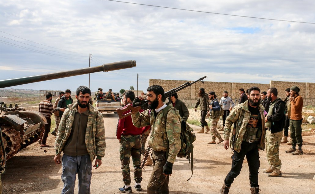 National Front For Liberation, National Syrian Army Merge Into One Faction