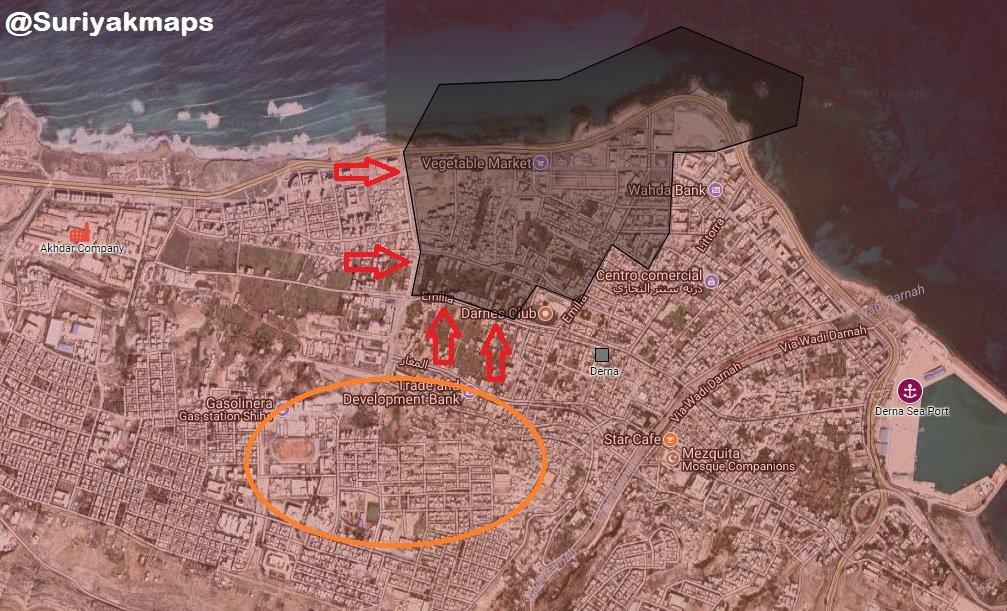 Libyan National Army Further Advances In Derna, Captures Commander Of Al-Qaeda