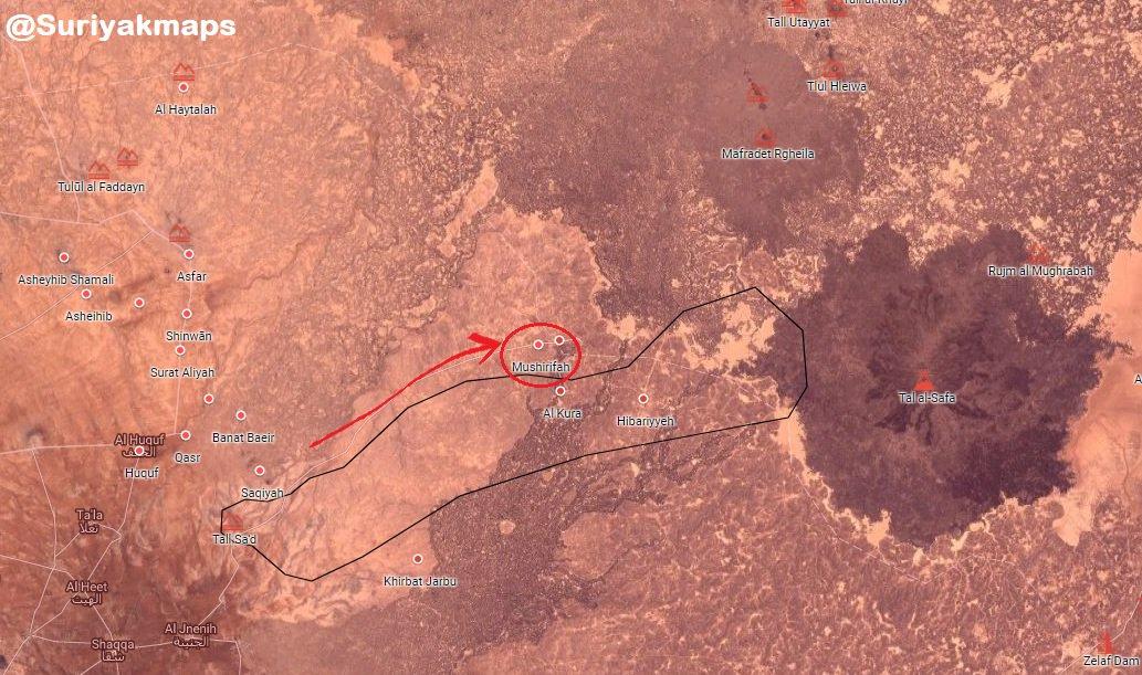 ISIS' Defense Crumbles Amid Syrian Army's Advance In Eastern Al-Suwayda