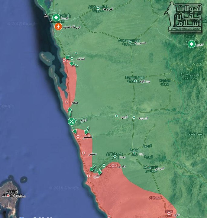Houthis Recapture Key Area Along Western Yemen Coast (Map, Video+18)