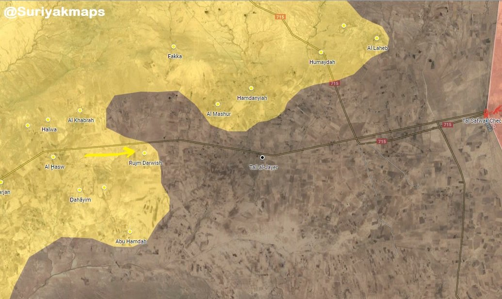 Syrian Democratic Forces Captures Two More Villages West Of Dashisha