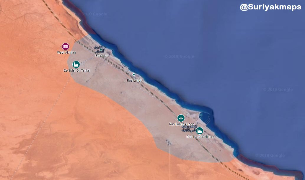 Militants Launch Surprise Attack On Oil Crescent In Northern Libya